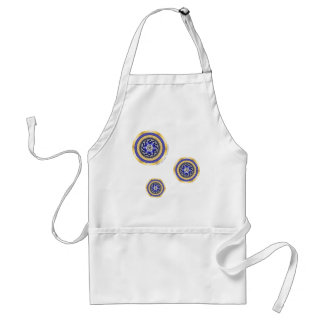 The Colors of New Years Apron