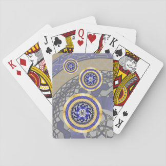 The Colors of New Years Classic Playing Cards