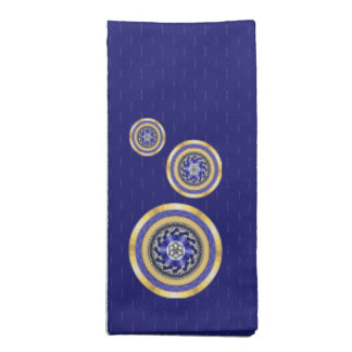 The Colors of New Years Napkin
