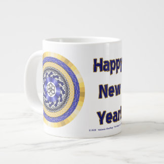 The Colors of New Years Specialty Mug