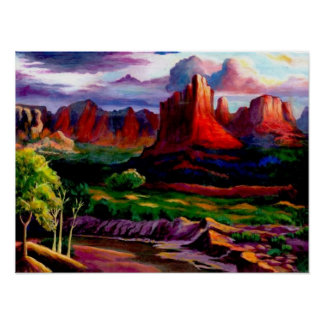 The Colors of Red Rock Canyon Posters