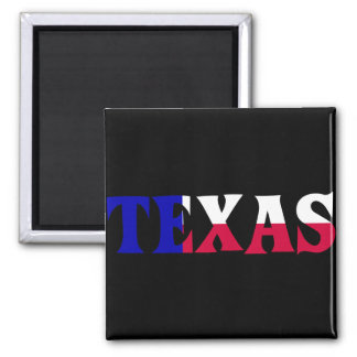 The Colors of Texas: Red, White, & Blue Magnet
