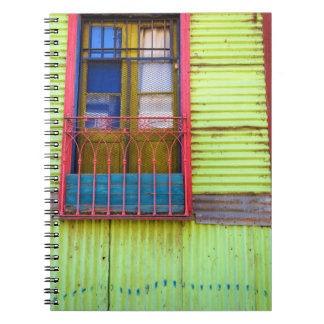 The colors of the Mouth, Spiral Notebook