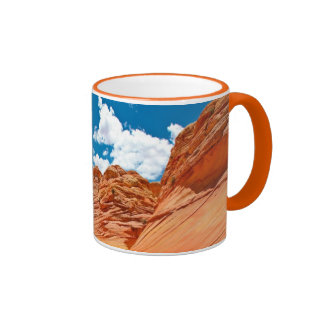 The Colors of the Wave Ringer Coffee Mug