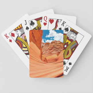 The Colors of the Wave Poker Cards