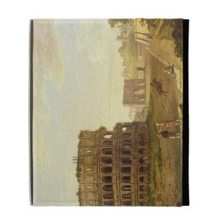 The Colosseum, 1776 (oil on canvas) iPad Folio Covers