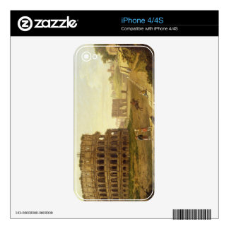 The Colosseum, 1776 (oil on canvas) Skin For The iPhone 4