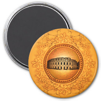 The Colosseum 3 Inch Round Magnet