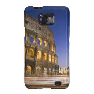 the Colosseum ampitheatre illuminated at night Samsung Galaxy S2 Case
