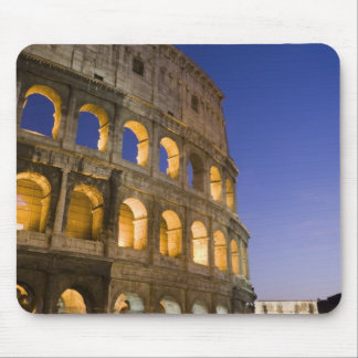 the Colosseum ampitheatre illuminated at night Mouse Pad