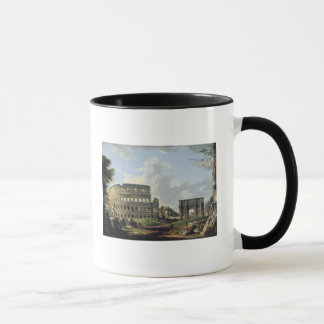 The Colosseum and the Arch of Constantine Mug