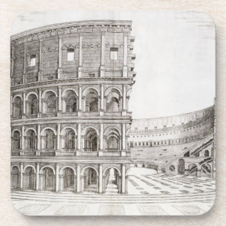 The Colosseum, built in AD 80 (engraving) Coaster