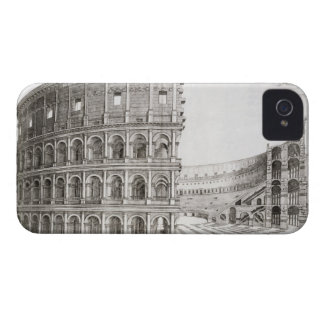 The Colosseum, built in AD 80 (engraving) iPhone 4 Case-Mate Case