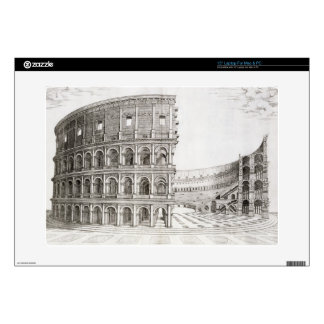 The Colosseum, built in AD 80 (engraving) Laptop Skins