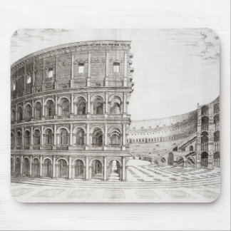 The Colosseum, built in AD 80 (engraving) Mouse Pad