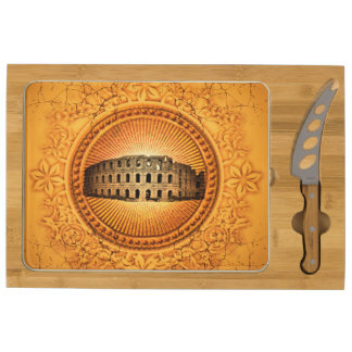 The Colosseum Cheese Platter