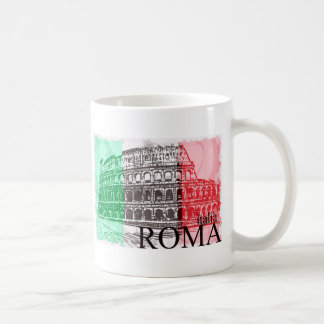 The Colosseum Classic White Coffee Mug