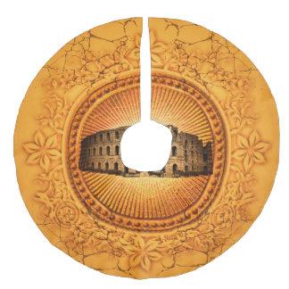 The Colosseum Faux Linen Tree Skirt
