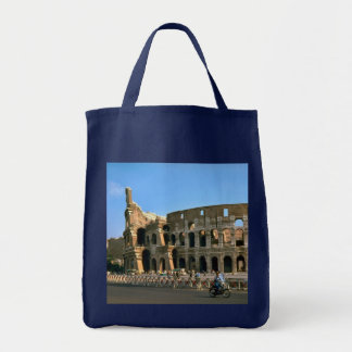 The Colosseum in Rome Tote Bags