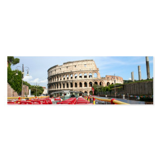 The Colosseum in Rome Business Card Templates
