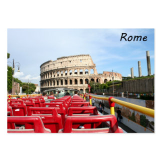 The Colosseum in Rome Business Card Template
