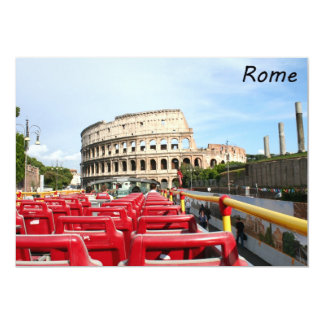 The Colosseum in Rome Card