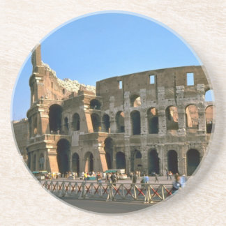The Colosseum in Rome Drink Coaster