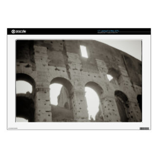 "The colosseum in Rome, Italy Skin For 17"" Laptop"