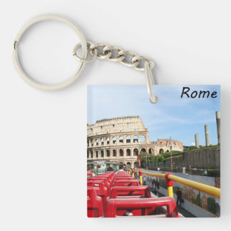 The Colosseum in Rome Acrylic Key Chain