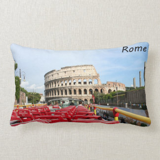 The Colosseum in Rome Lumbar Pillow