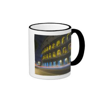 The Colosseum in Rome Ringer Mug