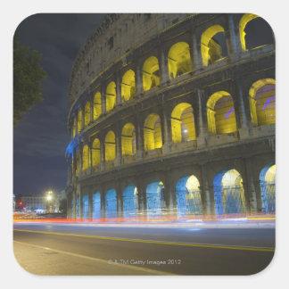 The Colosseum in Rome Square Sticker