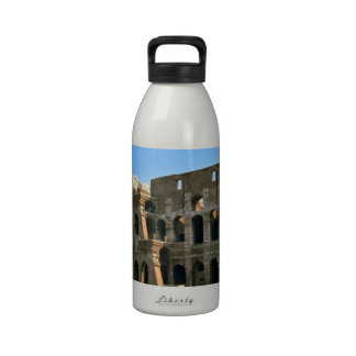 The Colosseum in Rome Water Bottles