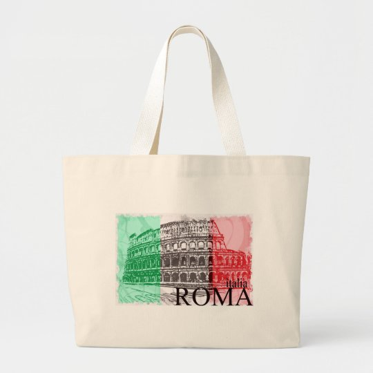 The Colosseum Large Tote Bag