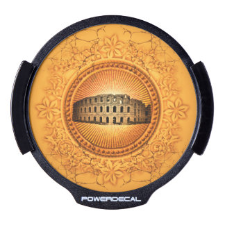 The Colosseum LED Window Decal