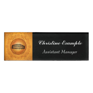The Colosseum Name Tag