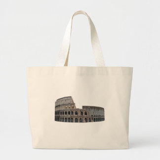 The Colosseum of Rome: 3D Model: Large Tote Bag