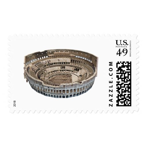 The Colosseum of Rome: 3D Model: Stamps