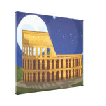 The Colosseum Of Rome Gallery Wrap Canvas