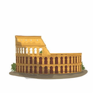 The Colosseum Of Rome Photo Sculpture