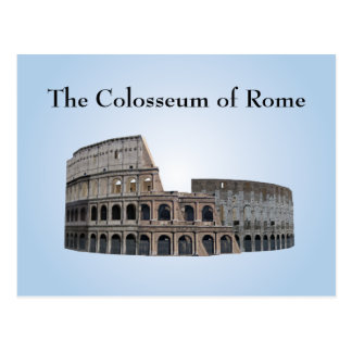 The Colosseum of Rome: Postcards