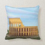 The Colosseum Of Rome Throw Pillows