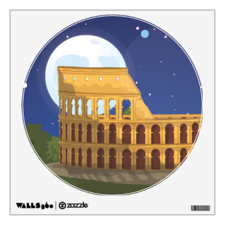 The Colosseum Of Rome Wall Sticker