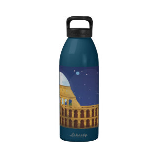 The Colosseum Of Rome Reusable Water Bottles