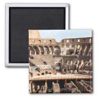 The Colosseum or Roman Coliseum, originally 2 Inch Square Magnet