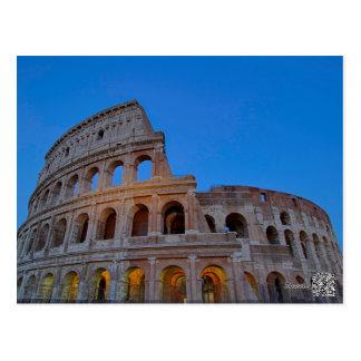 The Colosseum, originally the Flavian Amphitheater Postcard