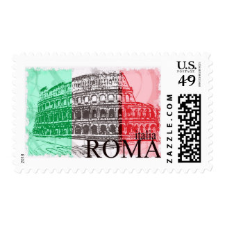 The Colosseum Postage