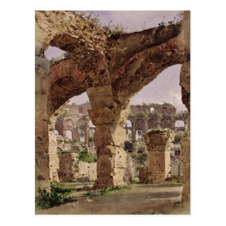 The Colosseum, Rome, 1835 Postcard
