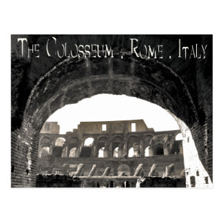 The Colosseum - Rome Italy Postcard