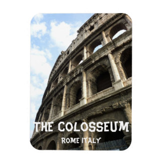 The Colosseum Rome Italy Rectangular Photo Magnet